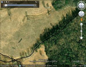 Google Earth Photo of Extension to the Quadrilateral